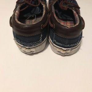 Vans Shoes - Vans Off The Wall Loafer Boat Shoes Men's 9.5